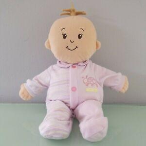 "🍊 Wee Baby Stella Manhattan Doll Toy 14"" brown hair Brown eyes . Preowned"