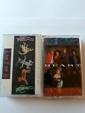 Lot Of 2 Heart Cassette tapes Bad Animals and Heart