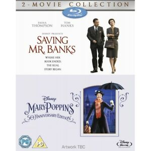 Saving Mr Banks / Mary Poppins Double Pack Blu-ray