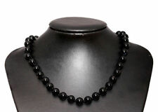 Onyx Echtschmuck-Halsketten aus Sterlingsilber