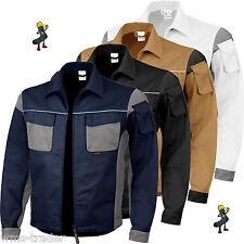 Arbeitsjacke Berufsjacke Arbeitskleidung Übergröße Mischgewebe 2-farbig