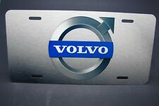 VOLVO METAL NOVELTY LICENSE PLATE TAG FOR CARS  PRINTED LICENSE PLATE