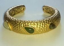 Rivka Friedman 18 K Clad Bangle with Semi Precious Stones. Brand New