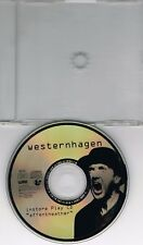 PROMO In-Store Play CD – Westernhagen – Affentheater (Fade out 3 Track-Mix) RAR!