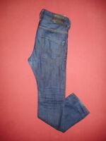 Diesel KROOLEY 0880G Reg Slim-Carrot - W28 L30 - Mens Blue Denim Jeans - X196