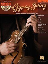 Gypsy Swing Sheet Music Mandolin Play-Along Book and CD NEW 000702521