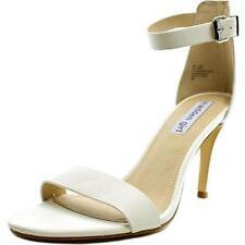 Sandalias y chanclas de mujer Steve Madden de tacón alto (más que 7,5 cm) de color principal blanco