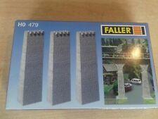 H0 - FALLER--479...Bausatz...3 Viaduktpfeiler... Brücke Rampe Auffahrt OVP neu !