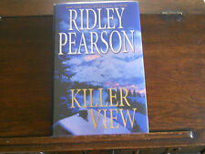 KILLER VIEW Bk. 2 by Ridley Pearson, SIGNED, 1st ed/1st printing (2008, HCDJ)