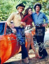Dukes of Hazzard cast signed 5x7 Autograph Photo RP - Free ShipN! Luke Bo Daisy