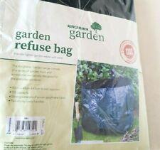 GARDEN WASTE BAG 55L RUBBISH BAG 43cm x 40cm x 43cm STRONG WOVEN POLYTHENE
