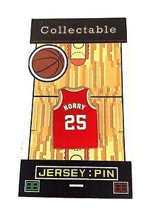 Houston Rockets Robert Horry jersey lapel pin-Classic Collectable-BIG SHOT BOB
