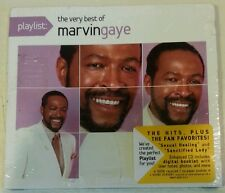 PLAYLIST: THE VERY BEST OF MARVIN GAYE [Digipak - Enhanced] (CD, 2008 - USA) NEW
