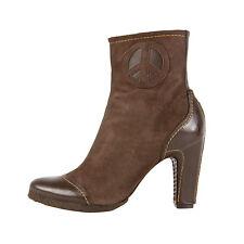 TRUE RELIGION leather low boots PEACE stivaletti pelle 38 IT  US 8  UK 6  BNIB