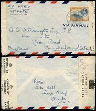 Military, War George VI (1936-1952) Air Mail European Stamps