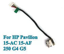 DC Power Jack for HP Pavilion 15-ac 15-af 250 G4 Series