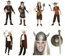 Boys Girls Viking Nordic Explorer Pirate Medieval  Book Day Fancy Dress Costumes