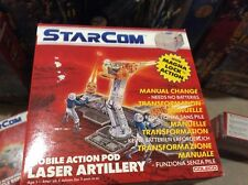 Starcom Laser Artillery Mobile Action Pod, MISB, factory sealed, case fresh