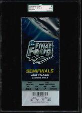 2014 NCAA Basketball SEMI FINAL  CHAMPIONSHIP FULL Ticket WISC vs. KENTUCKY SGC