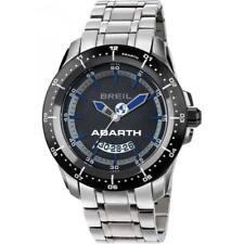 Orologio Uomo BREIL ABARTH TW1487 Bracciale Acciaio Nero Blu Sub 100mt