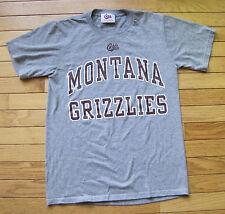 University of Montana Grizzlies Griz Official Univ Bookstore Gray T-Shirt Small