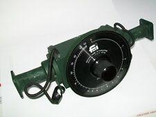 FMI FLANN MICROWAVE WR75 10-15 ghz waveguide rotary vane attenuator P/N 17113