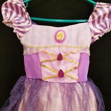 Halloween Costume Disney Rapunzel Tangled Dress Birthday Ballerina 4T-6x