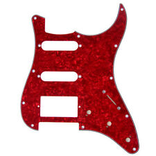 Pickguard Red Pearl Guitar Scratch Plate for Fender strat rep;acement SSH 11hole