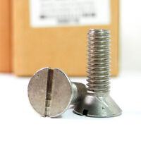 "R56001738 Machine Screw 3/8-16 x 1-1/4"" Flat Slotted (20 Pcs)"