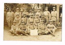 CPA PHOTO SOLDATS 160ème REGIMENT