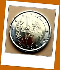 2 Euro Gedenkmünze Spanien 2005 - 400 Jahre Don Quichote -  Lieferbar