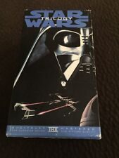 STAR WARS TRILOGY VHS VIDEOS 3 Tape Set Digitally Remastered (1995)