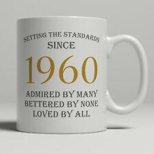 60th birthday present gift born 1960 mug idea men women ladies dad mum happy 60