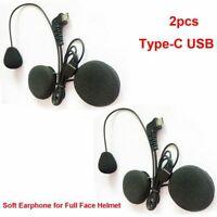 Motorcycle Bluetooth Intercom Interphone Microphone Speaker For BT-S2 BT-S3