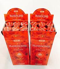 HEM Frankincense BULK INCENSE STICKS - 12 Packets - 240 Sticks New