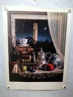 """Charles Becker """"Continuum"""" Signed Numbered 183/450 Lithograph Art Print"""