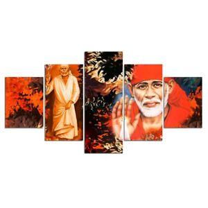 Religious Motivational Figure 5 pcs HD Poster Art Wall Home Decor Canvas Print