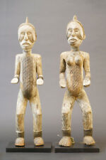 Two Ibo sculptures, (Igbo) Ancestral Figures