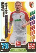 Bundesliga Fußball-FC Augsburg Saison 2017-2018 Trading Cards
