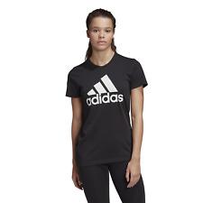 Adidas Performance Women's Sports T-Shirt Badge Of Sports Cotton Tee Black