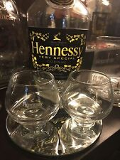 Hennessy  Mini Snifter Glass Set Of 2