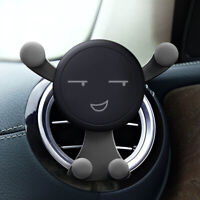 AU_ Gravity Car Air Vent Mount Cradle Holder Stand for iPhone Mobile Cell Phone