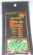 Hog Hunter 1/32 Panfish Jigs (Green White-25/pack)