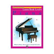 Alfred's Basic Piano Course Lesson Book Level 4