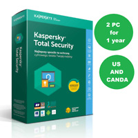 Kaspersky Total Security 2020 2PC 1 Year Antivirus Multi-device License