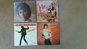 "Cliff Richard - 4 x 7"" Singles - True Love Ways, Living Doll, Hot Shot, Dreamin'"