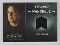 Arrow Season 3 [2015] M24 Ra's as Al Ghul (Exclusive Binder Wardrobe Card)