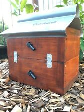 OATH Hive | Stained | Stingless Native Bee Hive Side Entry With Roof