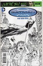 BATMAN Incorporated #7 New 52 Burnham Sketch VARIANT 2012