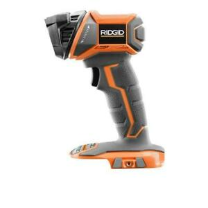 RIDGID R8694 Torch Light Work  Flashlight Cordless Durable 18 Volt Tool Only